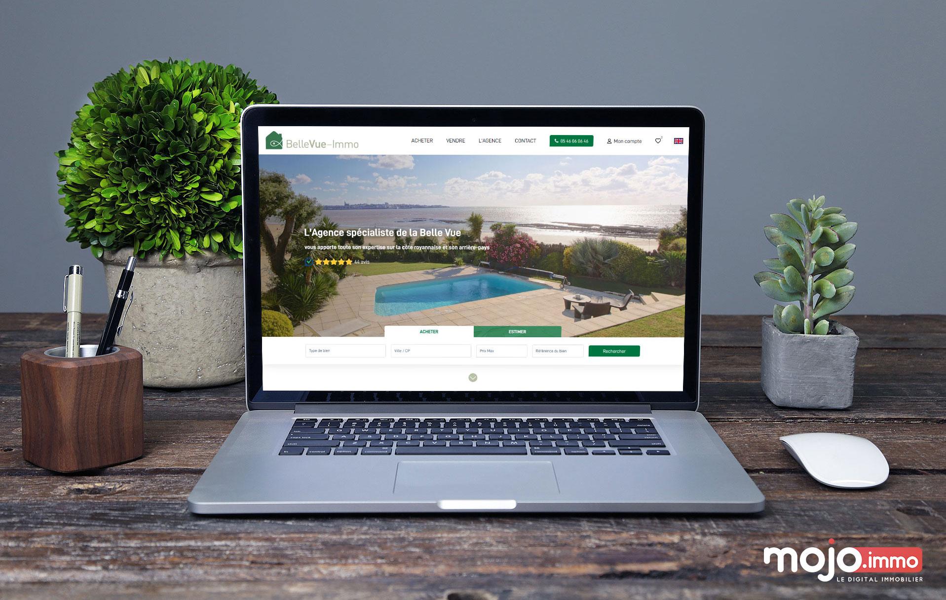 bellevue-immo webdesign