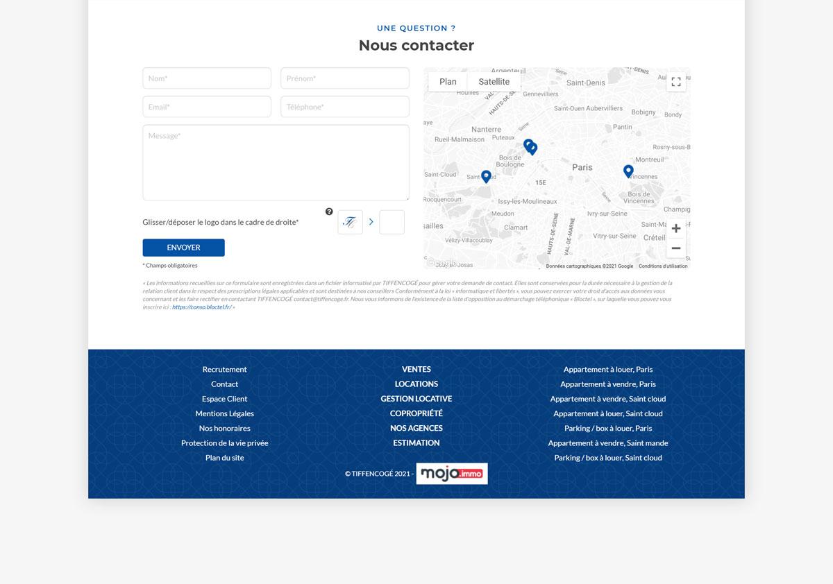 Webdesign Tiffen Cogé