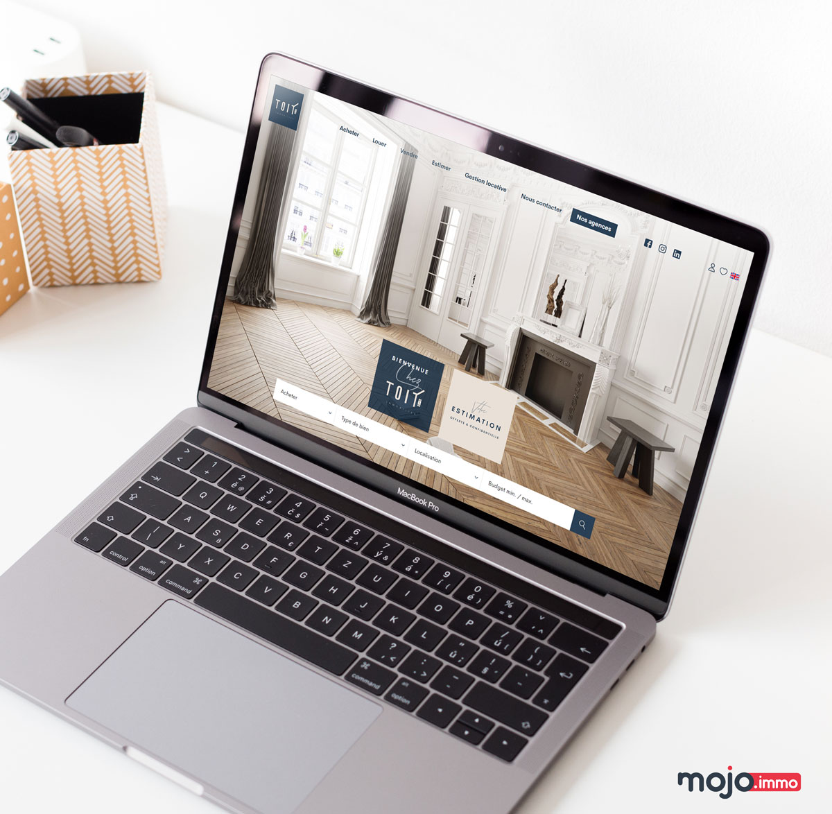 Webdesign site immobilier