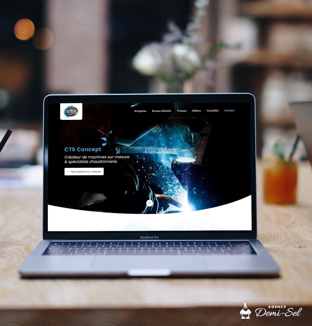 Webdesign site métallerie