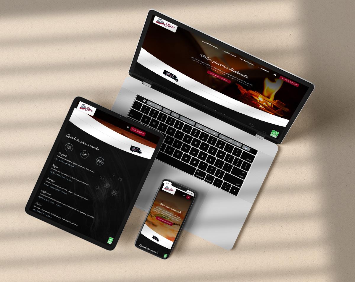 Webdesign site food-truck